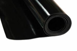 Antivibrations Gummimatte Gummiplatte SBR 1 mm Breite 120 cm, Länge 20 cm - 3 m