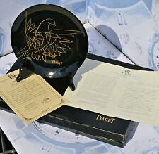 Raro PIAGET piatto ornamentale edizione limitata d'epoca in perfette condizioni