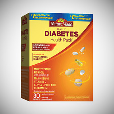Nature Made Daily Diabetic Health Pack - 30 Packets