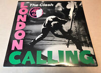 The Clash STILL SEALED ORIGINAL London Calling 1979 2LP Epic EG36328 Mint/Sealed