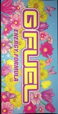 New Gfuel Energy Flowers Sticker Limited Edition Gamma Labs G Fuel