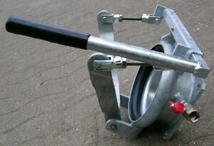 Schnellkuppler verzinkt kurze stabile Ausführung für Güllefass, Biogas, Gülle