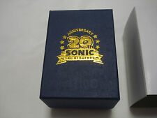 Sonic the Hedgehog 20th Anniversary Limited Edition Crystal Glass