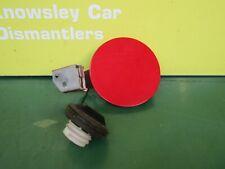 SUZUKI SWIFT MK2 PETROL FUEL FILLER FLAT CAP DOOR COVER RED