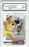 2005 Maria Sharapova Ace Authentic Signature Series Rookie Gem Mint 10 #4