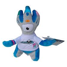 Olympics London 2012 Mandeville 20 Cmsilver Blau Beschwert Plüsch Spielzeug