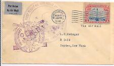 U.S.A.FLIGHT HISTORY; 1st FLIGHT COVER SG A649; MONTGOMERY 15/2/1932.