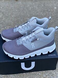 On Cloud Hi Men's Size 10 M Running Shoe Sneaker Slate/rock