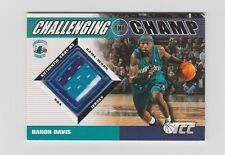 Baron Davis  Hornets 2001-2002 Topps Challenging The Champ JSY#CC-BD