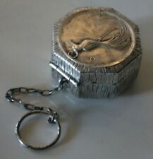 New ListingVintage Compact Finger Ring Sheffield Silver Plate Bird of Paradise Jonteel