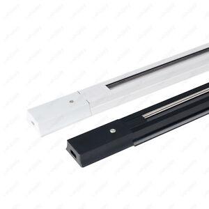 Wholesale 0.5m Hard Track Rail 2-Line Orbit Strip Connector For LED Track Light