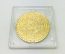 Millionaires Collection Edward III Double Leopard Silver Proof Gold Plated Coin