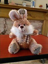 PAWS brown cuddly toy Rabbit. 9 ins long. Cute