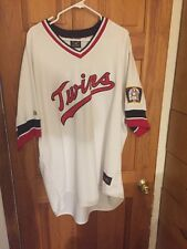 Cooperstown Rod Carew Twins Jersey Sz 3XL With Twins Patch