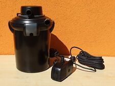 Mr. Gardener TDF4000 / WWF4100 Druck Teichfilter Set, Pumpe 7W UVC