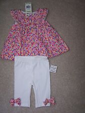 Girl's - 3-6 Months - 2 Piece Leggings Set - First Impressions - MSRP $38.50