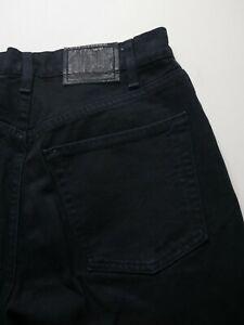 VTG Levi's SilverTab Loose USA Mens 33x36 Straight Leg Cotton Denim Black Jeans