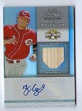 2012 Topps Triple Threads Zack Cozard Auto RC Bat Relic #d 23/99 Cincinnati Reds