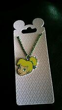 Disney Parks TinkerBell Necklace Kids Jewelry New