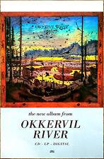 Okkervil River Away Ltd Ed Discontinued Rar 00006000 E Poster +Free Indie Folk Rock Poster