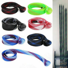 US Casting Fishing Rod Sleeve Stick Skin Pole Braided Cover Sock Protector 1-10x