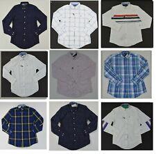 NWT Men's Tommy Hilfiger Button Front Long Sleeve Casual Shirt  Sz XS - XXL