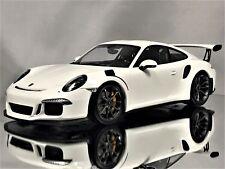 Minichamps Porsche 911 (991) GT3 RS 2015 White L.E. of 222 1:18