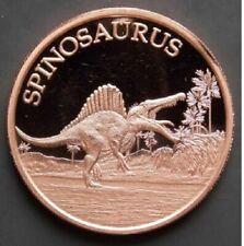 1 oz Copper Round - Spinosaurus