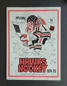 Ken Dryden & Pete Mahovlich signed 1974 Hockey Line-up Page