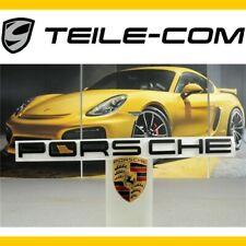 NEU+ORIG. Porsche Macan Schriftzug/Logo PORSCHE schwarz / Heckklappe/rear lid