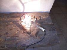 Ancienne Lampe Baladeuse ATROW Vintage Garage Industrielle