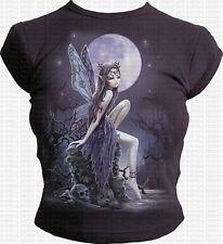 Spiral Girlie Top - Midnight Fairy - Größe: M