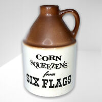 Vintage Corn Squeezens from Six Flags Moonshine Jug Souvenir Crock Western Boho