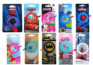 Lizenz Disney Pixar DC Frozen Fahrrad Klingel Fahrradklingel Glocke Kinder