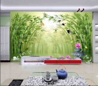 Fantastic Bamboo 3D Full Wall Mural Photo Wallpaper Printing Home Kids Decor