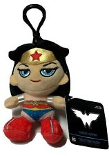 """Wonder Woman Clip On Heroez Clipz 5"""" Backpack Plush Keychain New Collectors Item"""