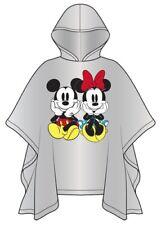 Disney Youth Minnie Mickey Mouse Family Sitting Clear Rain Poncho Keep Dry