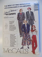 McCall's 6176 Size 14 Palmer Pletsch Lined or Unlined Jacket 1992 Uncut
