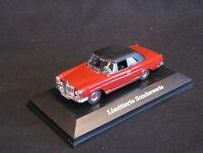 Faller Mercedes-Benz 280 SE 3.5 Cabriolet 1:43 Red / Black Soft Top (JS)