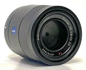 Sony Zeiss Sonar T* 55mm f/1.8 FE ZA Lens Sony FE Mount A7 A9