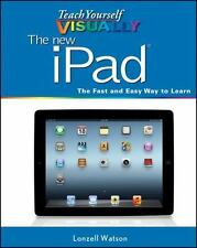 Teach Yourself VISUALLY The new iPad Watson, Lonzell Paperback Used - Very Good