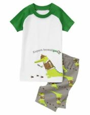 Gymboree Expert Investigator Gator Shortie Gymmies Pajamas Set Boys 7 NEW NWT