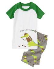 Gymboree Expert Investigator Gator Shortie Gymmies Pajamas Set Boys 7 NEW NWT