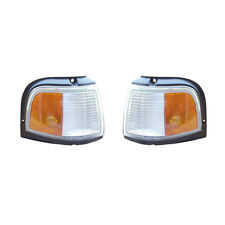 NEW PAIR OF SIDE MARKER LIGHTS FITS OLDSMOBILE CUTLASS CIERA 1988-1991 5977862