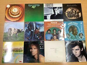 Vinyl Records Job Lot 60 LP Rock Soul Etc