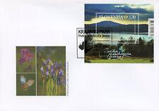 Slovenia 2018 FDC Pivka Seasonal Lakes Nature Park 1v M/S Cover Trees Stamps