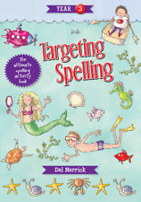 TARGETING SPELLING ACTIVITY BOOK YEAR 3  9781925490213 FREE SHIPPING