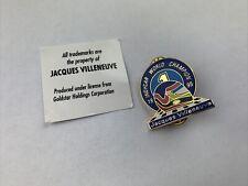 Indycar Jacques Villeneuve World Champion 1995 Pin Anstecker
