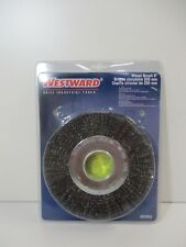 "8"" 4500 Rpm 2"" Arbor 1-1/4"" Bristle Trim Length Crimped Wire Wheel Brush (4Edr2)"
