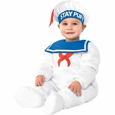 Padded StayPuft Marshmallow Man Halloween Costume for Baby, Ghostbusters